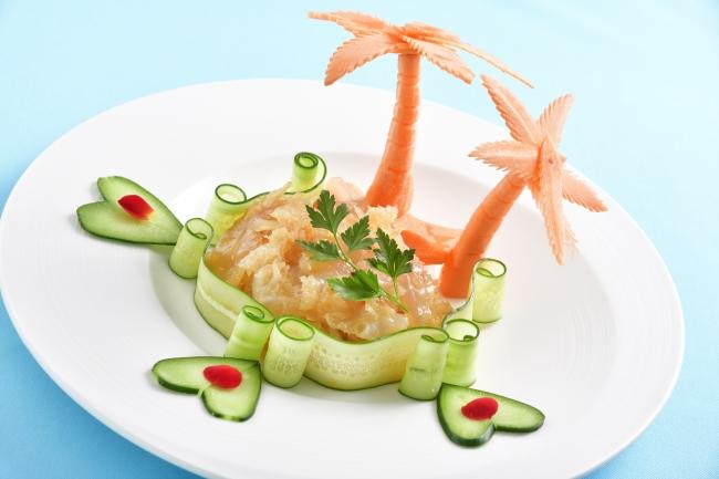 感動!食感!クラゲの頭の冷菜