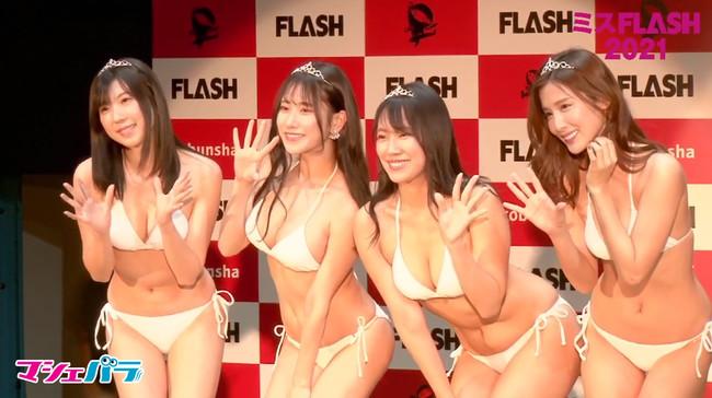 (左から)高槻実穂、名取くるみ、霧島聖子、益田アンナ