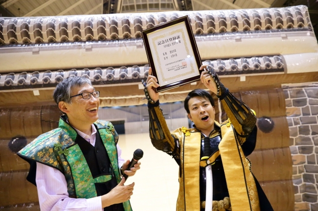 (左)一般社団法人 日本記念日協会 代表理事 加瀬 清志 氏 (右)NPO法人ゼロワン 米田 真介