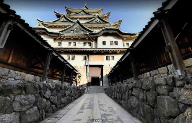 閉館した名古屋城天守閣の内部を、Googleストリートビューで公開 ...