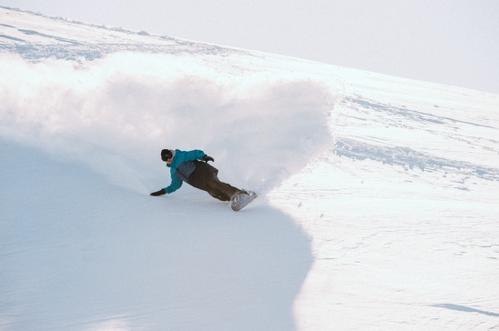 テリエ・ハーコンセン氏の滑走の様子 イメージ写真