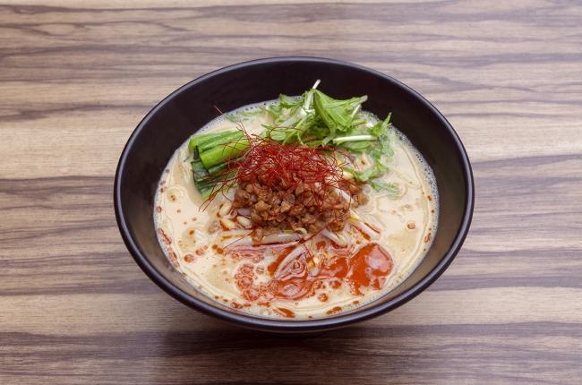 ビーガン担々麺(ソラノイロ)