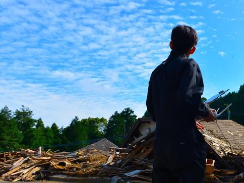 熊本災害現場での活動