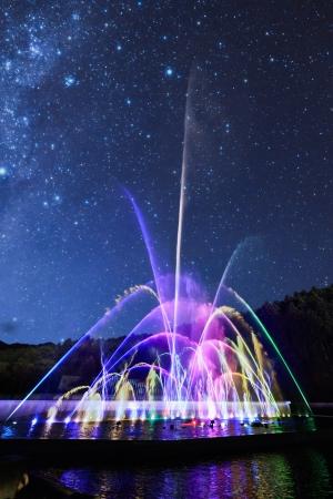噴水レーザーショー