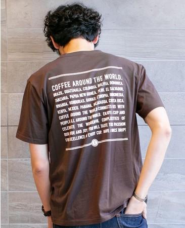 着用画像「COFFEE AROUND THE WORLD」