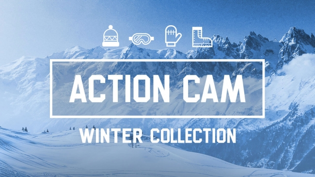 action cam winter collection