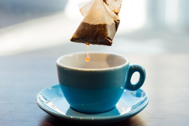 お湯に浸すだけで楽しめるコーヒーバッグ。