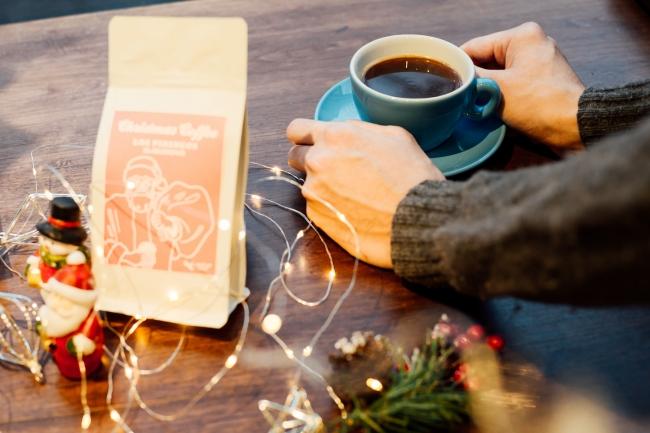 飲むだけでクリスマス気分になれるコーヒー。