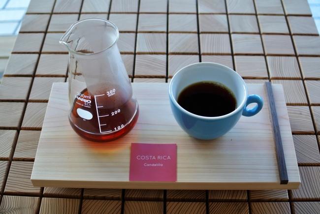 農園ごとの個性を楽しむ浅煎りのコーヒーがこの店の魅力。