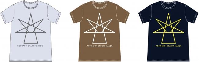 「POWER of TAKAOKA」チャリティーTシャツ 3色展開 各3,500円(税別)