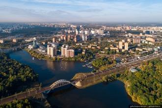 ノボシビルスク市全景