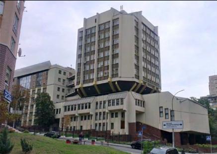 キエフ国立言語大学第3号館。日本語学科の教室もこの建物にある。