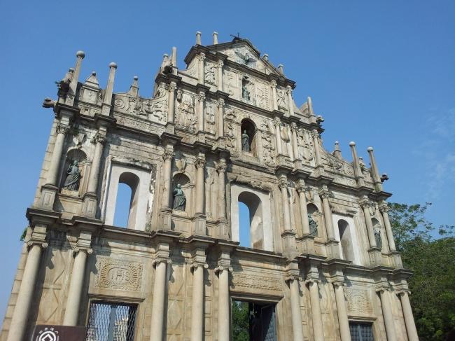 世界遺産『聖ポール天主堂跡』