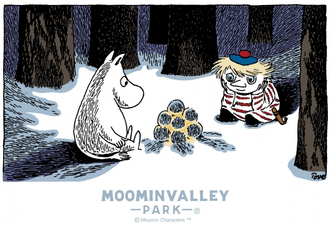 「WINTER WONDERLAND in MOOMINVALLEY PARK EMPOWERED BY CALAR.ink」11月30日(土)よりスタート!
