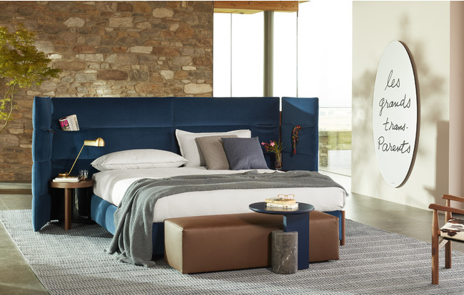 BIO-MBO bed, Cassina