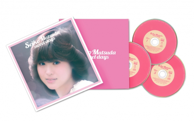 『Seiko Matsuda sweet days』MHCL-30478~30480(3枚組) 価格¥5,000(税抜)