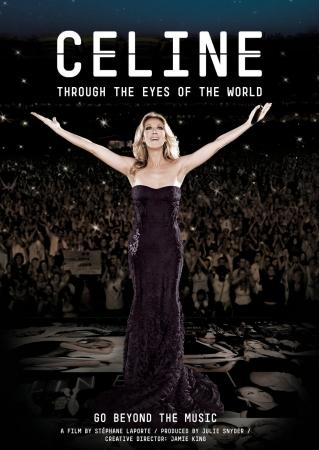 【ポスター・ビジュアル】6.20(水)上映 Cディオン ドキュメンタリー映画『Celine Through The Eyes Of The World』