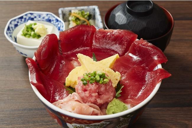 焼津ミナミマグロ鉄火丼   950円(税込)