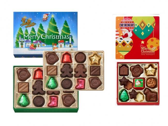 クリスマスプレーンチョコレート