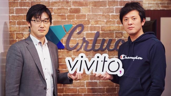 左:社外監査役 久馬一朗氏  右:代表取締役 辻慶太郎