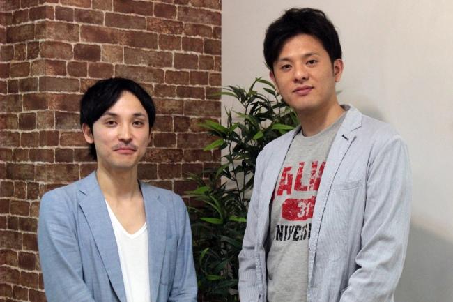 左:MIL代表取締役 光岡 敦氏  右:vivito代表取締役 辻 慶太郎
