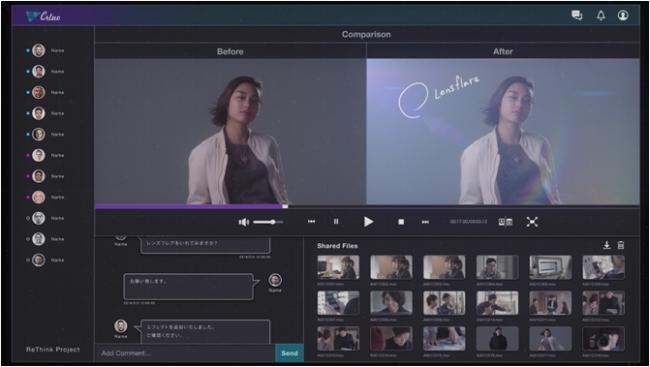 Crluo 動画制作画面イメージ
