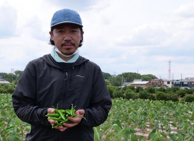 埼玉県所沢市の契約農家で自社栽培