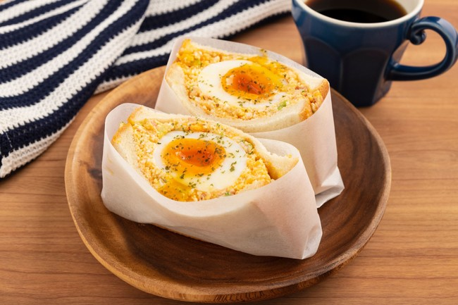 ブランド卵のたっぷり玉子サンド 480円(税抜)