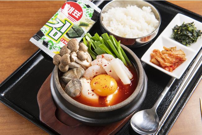 海鮮スンドゥブ定食 890円(税込979円)