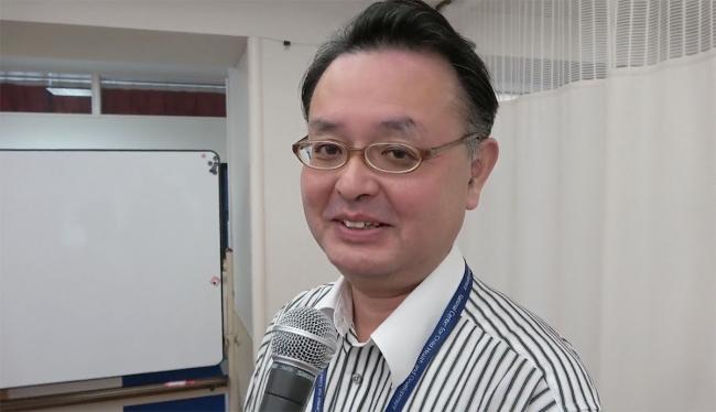 ▲中学部:佐野健一郎先生