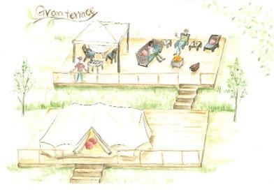 THE FARM CAMP グランテラスイメージ