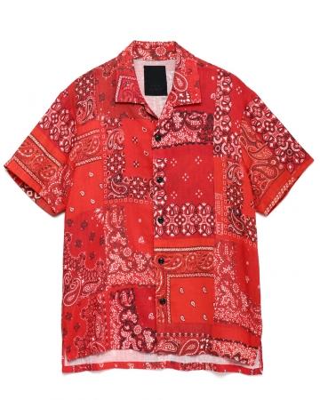 コットンSSシャツ ¥28,000+TAX