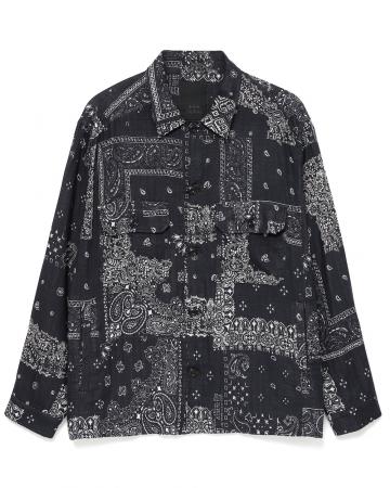 コットンLSシャツ ¥34,000+TAX