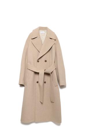 Big Collar W Coat ¥71,500
