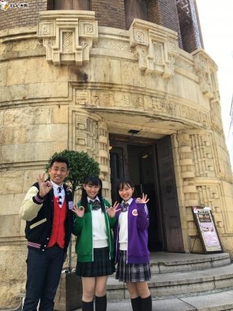 (左から)石田靖・根岸可蓮・堀くるみ