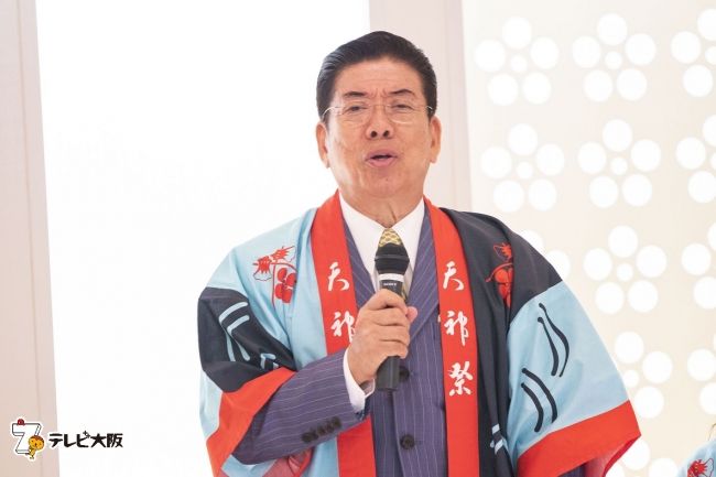 天神祭と言えばテレビ大阪!令和元年も浪速の風物詩を独占生中継!大阪天満宮で番組司会の3人が意気込み語る。