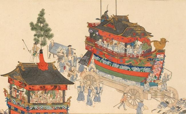 "Yokoyama Hanayama""Gion Festival Umemaki""第一卷/部分私人收藏"