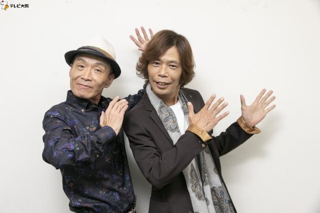 ティーアップ(左から前田勝、長谷川宏)