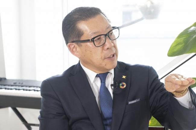 山本化学工業株式会社 山本 富造代表取締役社長