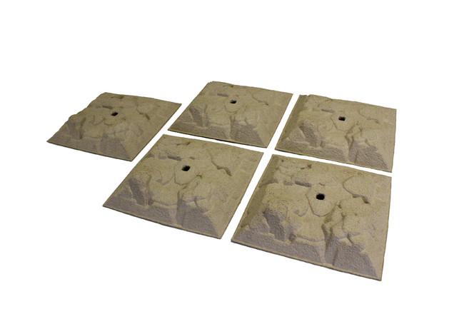 ミニッツ 4x4 スタッカブル テレイン(5pcs) MXW006
