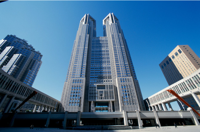 東京都庁第一本庁舎外観(東京都提供)