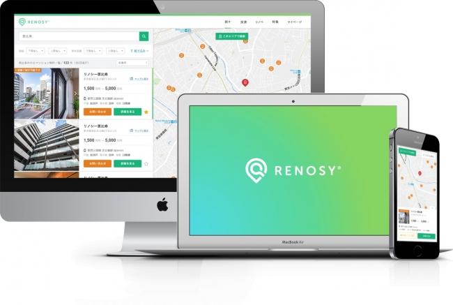 <Renosyポータル UI>