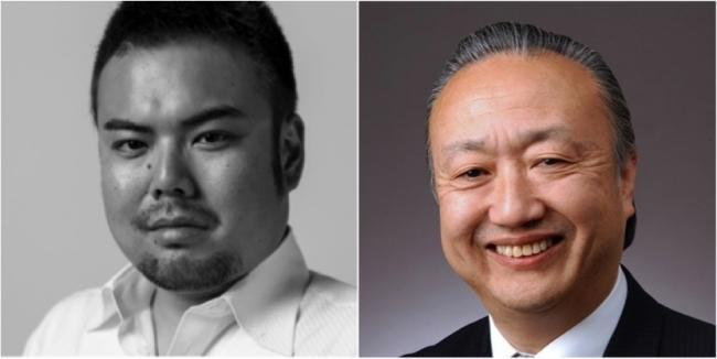 左:Planetway 平尾憲映CEO、右:ジャパン・リンク松本徹三社長