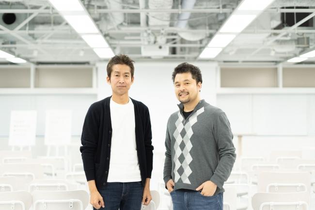 (左:株式会社ピースオブケイク代表・加藤貞顕氏/右:株式会社Voicy代表・緒方憲太郎)