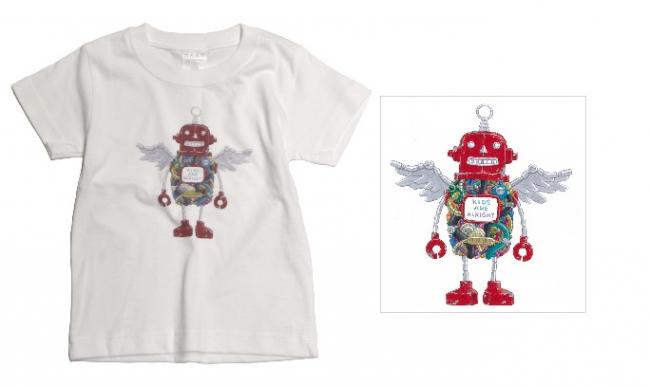 Tシャツ:ロボフロント/ホワイト