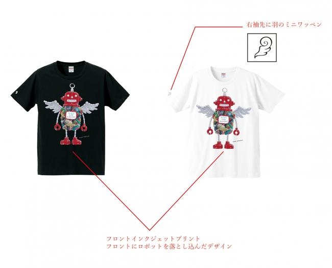 Tシャツ/ロボフロント