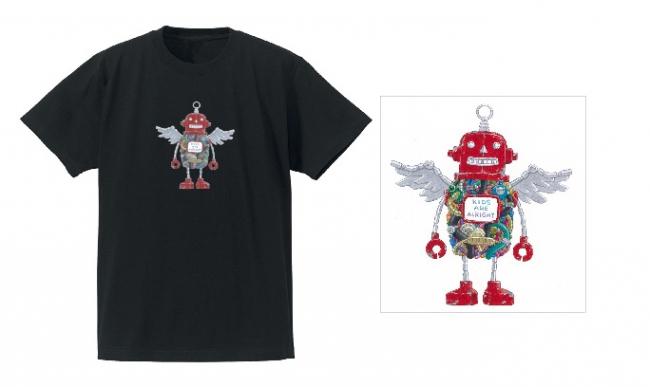 Tシャツ:ロボフロント/ブラック