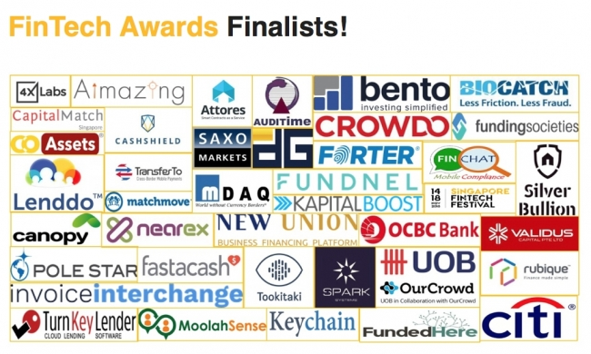 FinTech Awards Finalists