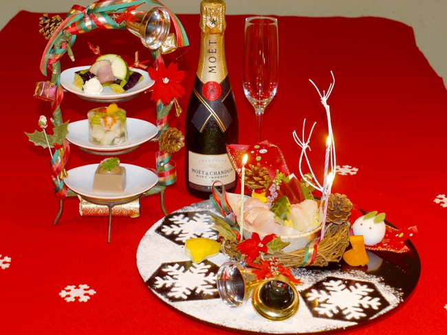 クリスマス懐石 イメージ