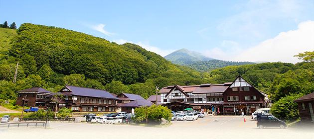 【2位:酸ヶ湯温泉旅館】外観